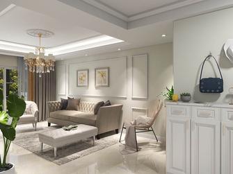 经济型90平米混搭风格客厅效果图