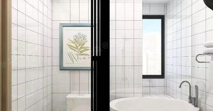经济型90平米日式风格卫生间效果图