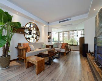 富裕型80平米中式风格客厅图片