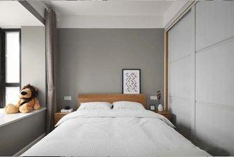 5-10万120平米三室一厅北欧风格卧室装修图片大全