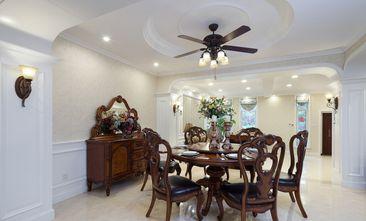 豪华型140平米四室三厅美式风格餐厅装修图片大全