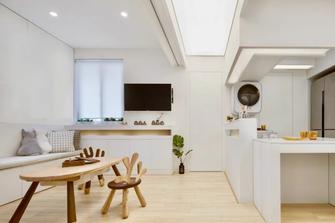 经济型60平米现代简约风格餐厅欣赏图