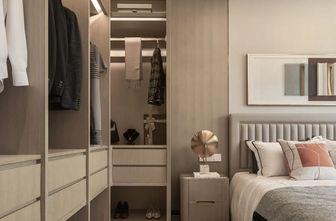 豪华型90平米三室两厅现代简约风格衣帽间效果图