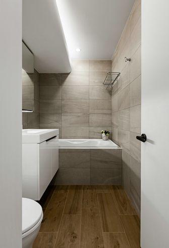 富裕型100平米四室一厅北欧风格卫生间图片