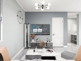 三室两厅现代简约风格客厅设计图