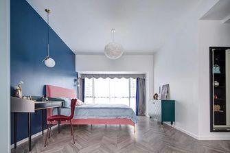 豪华型110平米三室两厅法式风格卧室装修图片大全