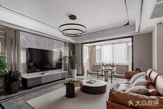 豪华型140平米复式中式风格客厅效果图