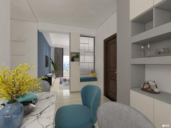 5-10万三室两厅现代简约风格走廊效果图