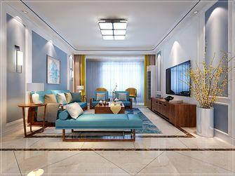 20万以上120平米三室两厅中式风格客厅设计图