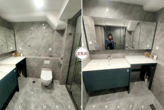 15-20万140平米三室两厅现代简约风格卫生间欣赏图