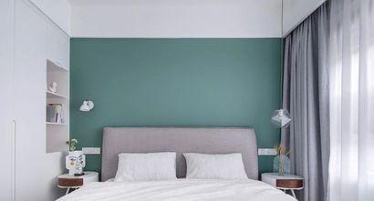经济型90平米三室一厅北欧风格卧室图片大全