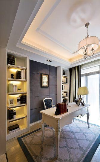 20万以上140平米四室两厅欧式风格书房图