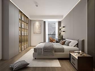 豪华型140平米三现代简约风格青少年房图片