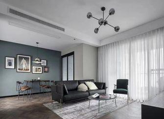 5-10万90平米三室两厅北欧风格客厅设计图