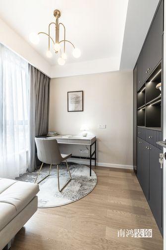 富裕型80平米三室两厅混搭风格书房装修图片大全