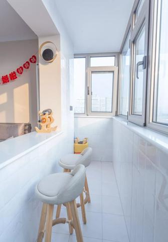 5-10万60平米一室一厅现代简约风格阳台设计图