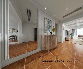 豪华型140平米三室两厅美式风格玄关图片