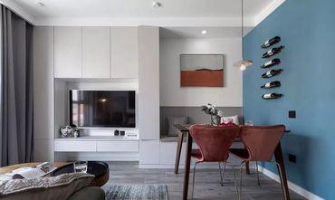 5-10万70平米现代简约风格客厅装修案例
