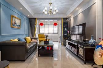富裕型90平米新古典风格客厅装修图片大全