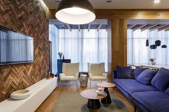 100平米混搭风格客厅装修案例