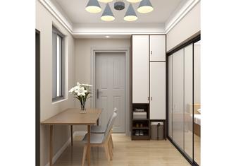 经济型80平米三室一厅北欧风格玄关图片