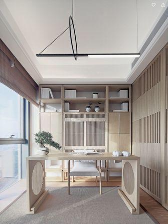 富裕型110平米三室两厅中式风格阳台图