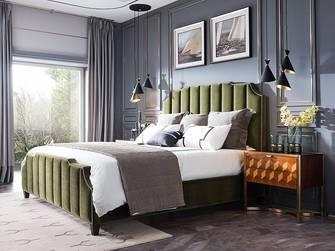 富裕型140平米四室一厅美式风格卧室图片