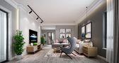 豪华型140平米四室两厅北欧风格客厅装修案例