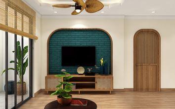 15-20万120平米三室两厅东南亚风格客厅装修图片大全