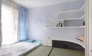 富裕型80平米三室一厅地中海风格卧室装修图片大全