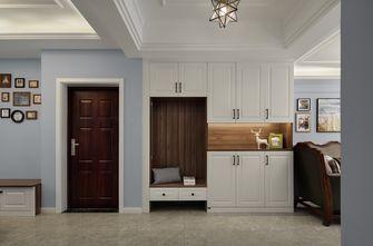 富裕型100平米三室两厅美式风格走廊装修效果图