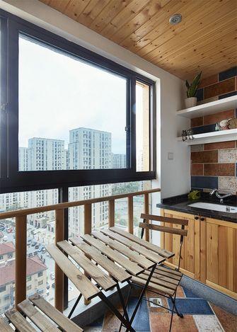 富裕型北欧风格阳台欣赏图