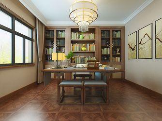 140平米四中式风格书房图片大全