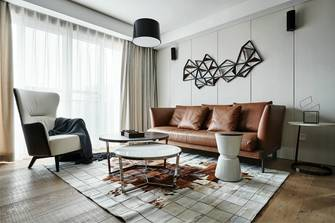 富裕型140平米四室两厅混搭风格客厅装修效果图