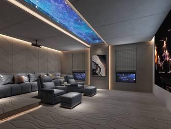 豪华型140平米别墅法式风格影音室装修图片大全