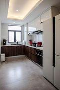 20万以上140平米四室一厅现代简约风格厨房图