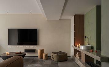 140平米三室三厅工业风风格客厅设计图