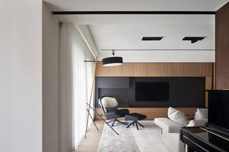 140平米四室一厅现代简约风格客厅图片