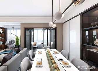 豪华型110平米四现代简约风格餐厅欣赏图