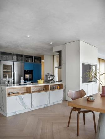 140平米三现代简约风格厨房设计图