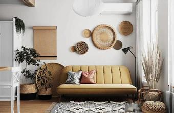 10-15万50平米公寓欧式风格客厅图片