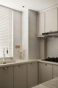 富裕型90平米三室两厅法式风格厨房欣赏图