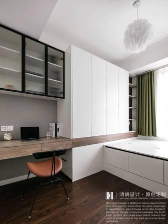 经济型140平米四室两厅混搭风格书房效果图