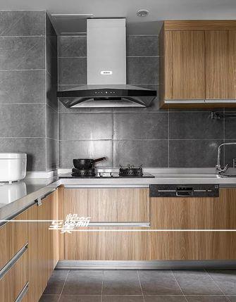 5-10万80平米三室两厅日式风格厨房设计图