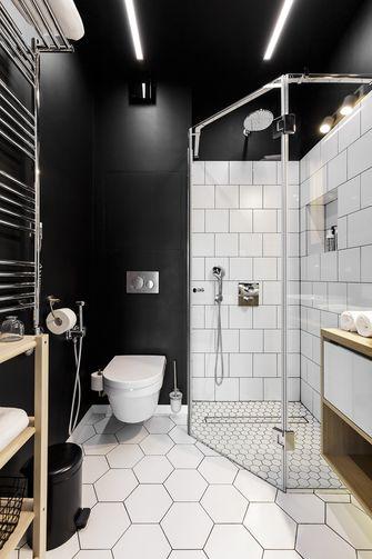 5-10万40平米小户型北欧风格卫生间装修案例