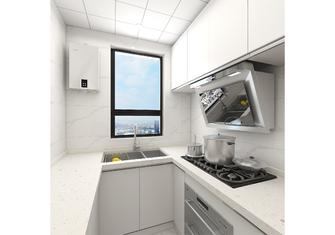 富裕型70平米混搭风格厨房图片大全