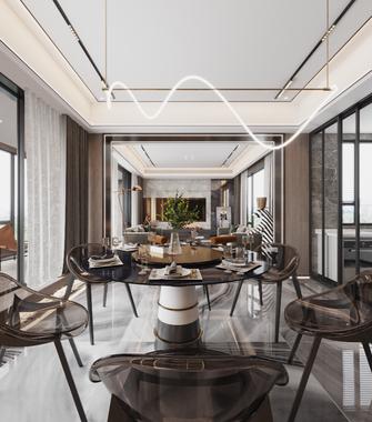 20万以上三室两厅港式风格餐厅图