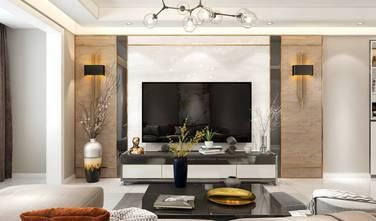 3万以下120平米三轻奢风格客厅装修案例