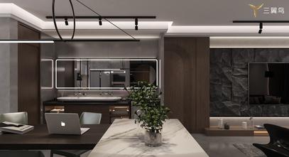 富裕型120平米公寓现代简约风格客厅装修效果图
