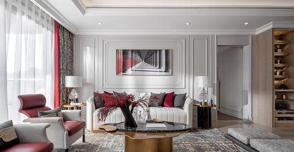 富裕型100平米四轻奢风格客厅欣赏图
